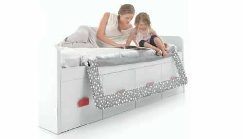 accesorios para cama nido, barreras,. ruedas, guias, cojines