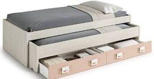 cama nido habitdesign con cajones camas nido juveniles con cajonera