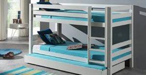 litera cama nido, litera con cama nido y cajones, cama nido con litera
