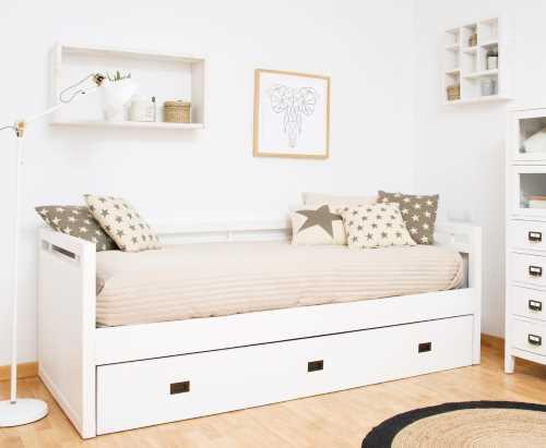 cama nido blanca comprar cama nido online canguro diván, cama nido barata