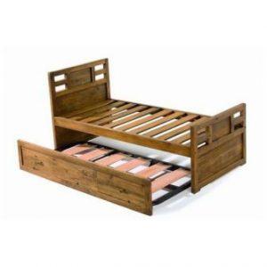 cama nido de madera maciza
