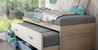 cama nido alta