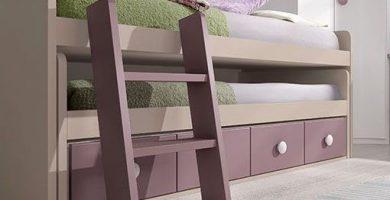 escalera para cama nido