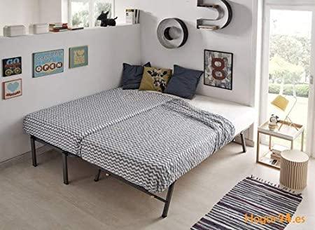 camas nido de la misma altura