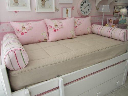 cojines para una cama nido, cojín cama nido