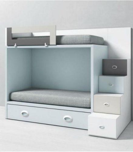 escaleras cama nido