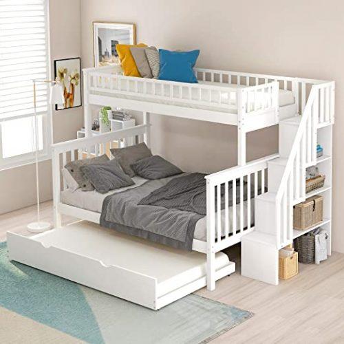 cama nido con escaleras, comprar escalera para cama nido