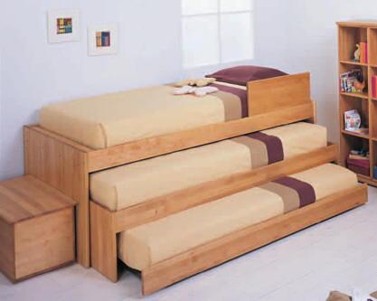 cama nido triple